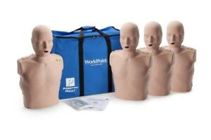 Prestan Jaw Thrust Manikin With Cpr Monitor 4 Pack Pp jtm 400m ms