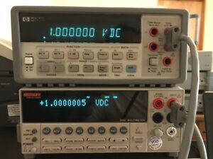 Agilent hp keysight 34401a Dmm 6 Digit tested 20071101