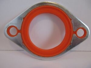 Chevy Thermostat Housing Water Neck Outlet Aluminum Silicone Gasket Sbc Bbc 4130