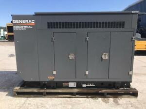 __35 Kw Generac Generator Set Unused 2014 Sound Attenuated 12 Lead Reconn