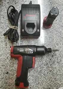 Snap on Ct561qc Impact Driver With Charger And 2 Batteries A zzz