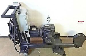 Wenger Jr Clancy Mobile Capstan Hoist Winch 018 416 Theater Stage Rigging