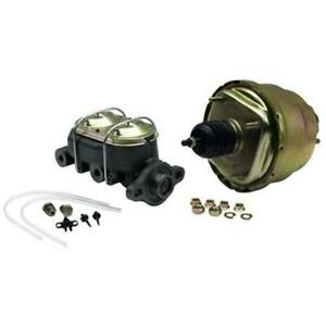 Dual 7 Inch Brake Booster Master Cylinder Combo 1 Inch Bore