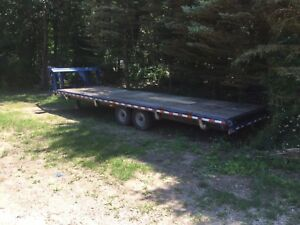 2006 Gooseneck Trailer Flatbed 14k Gvwr Want To Sell Asap