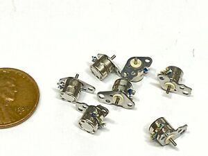 8x Micro Small 8pc Stepper Motors Miniature 2 phase 4 wire Step Motor Driver A15