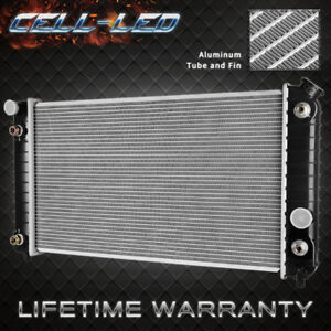 Radiator For Gmc Chevrolet Fits Blazer C1500 S10 Jimmy Sonoma 1826 V6 4 2l 4 3l