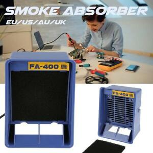 Fa 400 Soldering Iron Smoke Absorber Fume Extractor Smoking Sponge Air Filter Us