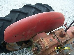 International Farmall Cub Tractor Left Fender