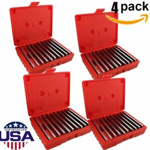 4 Pack 1 8 Steel Parallel Set 10 Pair Parallels 0002 Lot Ma