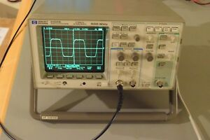 Agilent Hp 54616b Digital Oscilloscope 500mhz 2gs s Option 005 Vertical Output