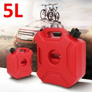 5l Plastic Fuel Can Gas Diesel Petrol Fuel Tank Oil Fuel jugs Container Us Ma