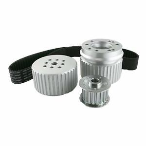 Ford Bb Big Block 429 460 Gilmer Style Pulley Kit silver