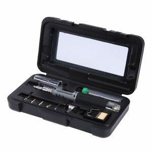 10 In 1 Electric Self ignition Wireless Gas Soldering Iron Set 26ml Soldering