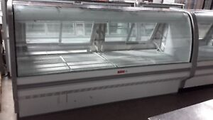 Used 99 Howard mccray Sc cds40e 8c ls Refrigerated Deli Display Case