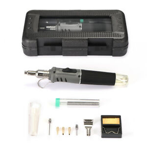 Self ignition 10 In 1 Hs 1115k Gas Soldering Iron Butane Cordless Welding Tor