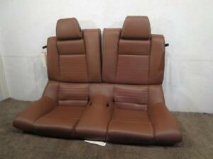 Oem Ford Mustang Gt Coupe Leather Rear Seat Saddle Tan 2010 2011 2012 2013 2014