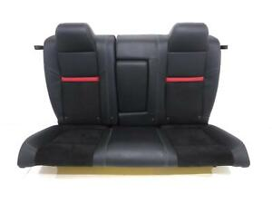 Dodge Challenger Oem Leather Rear Seat 2008 2009 2010 Srt8