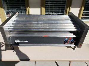 Star Grill Max Commercial Hot Dog Roller