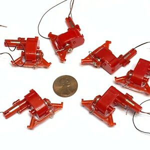 6 Pieces Dc 3 3 7v Micro Speed Reduction Worm Gear Motor Mini Coreless Motor A20