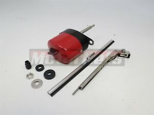 Red Stainless Windshield Wiper Motor Blade Kit Boat Chevy Ford Gm 12v Jeep Mopar