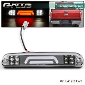 Third 3rd Brake Light Cargo Lamp 3d Led Bar For 99 16 Ford Super Duty F250 F350