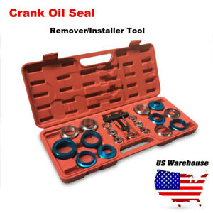 20pcs Car Camshaft Crank Crankshaft Oil Seal Remover Installer Removal Tool Kit
