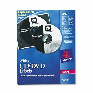 Avery Laser Cd dvd Labels Matte White 250 pack best Price service In The Us