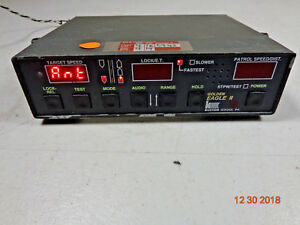 Kustom Signal Golden Eagle Ii Police Radar Speed Detection Control Head Unit C3