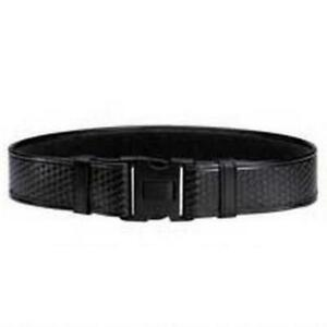 Bianchi 22127 7950 Black Basketweave Accumold Elite Duty Belt Large 40 46