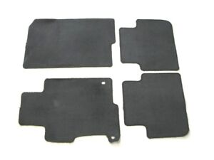 13 14 15 16 17 Honda Accord Sedan Black Carpet Floor Mats Rugs Oem Used Set 1