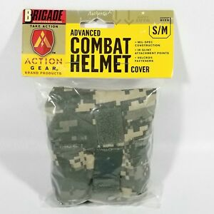 US GI Army Advanced Combat Helmet Cover ACHMICH ACU-UPC COVER Size SM