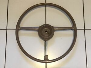Vintage Steering Wheel For 1940 Pontiac Cars