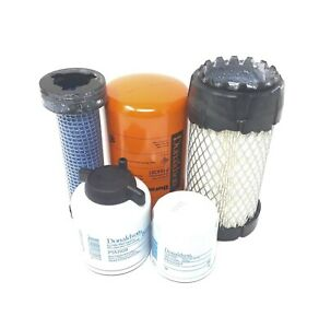 Bobcat Mt52 Filter Service Kit Air 2 Oil Fuel Hyd Filters all Donaldson