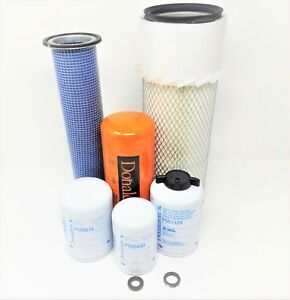 sc Case 1845c 1840 Maint Filters Kit axial Seal Air Filters Donaldson