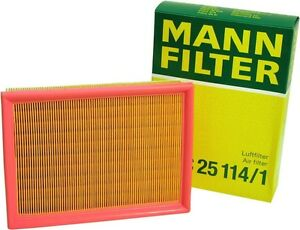 C 25 114 1 Mann Air Filter C25114 1 Pack Of 2 Free Shipping