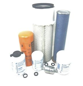 Case 580k Loader Backhoes Maintenance Filters Kit