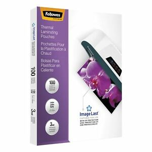 Imagelast Laminating Pouches With Uv Protection 3mil 11 1 2 X 9 100 pack