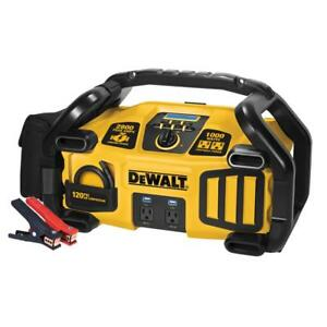 Dewalt Power Station Pro Jump Starter 2800 Peak 1400 Instant Amps Air Compressor