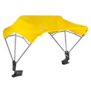 Rfc348y 48 Yellow Canvas Fender Mount Tractor Canopy Cover For Case Ford Kubota