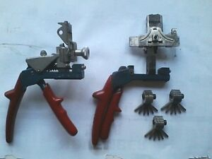 Curtis Model 15 Code Key Clipper W parts Unit And 3 Cams