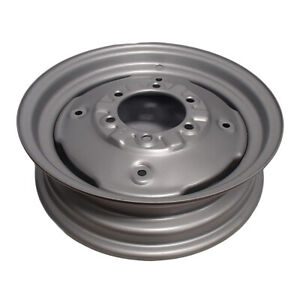 8n1015d 16 6 Hole Front Wheel Rim For Ford 8n Naa Jubilee 600 800