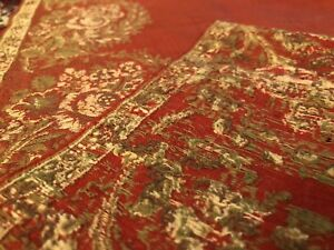 Antique Kashmir Paisley Shawl With White Roses Floral Buteh 19th C 67 X64