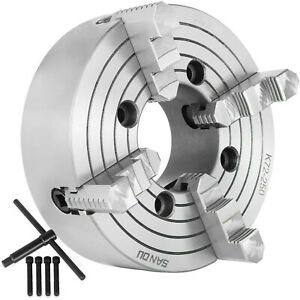1 Pc Lathe Chuck 10 4 jaw Independent Reversible Jaw K72 250