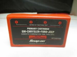 Snap on Mt2500 Scanner Primary Cartridge Gm Chrysler Ford Jeep 1996 Thru 2000