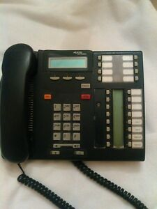 Nortel Networks Desk Office Business Phone Nt8b27aaba nt8b27aaam T7316 Charcoal