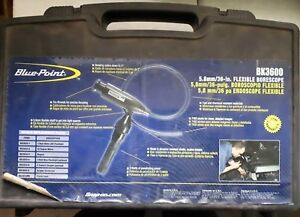 Blue Point By Snap On Bk3600 Flexible Borescope Tool Kit tested Working