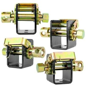 2 Tow Dolly trailer Lashing Winch For Tie Down Strap Ratchet Type Truck 4 Pack