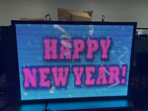 P6 67 Outdoor Led Display 27 5 X 40 25