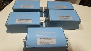 Spectracom 8140t10 8146 0003 0600 8140t 10 Mhz Isolated Frequency Line Tap
