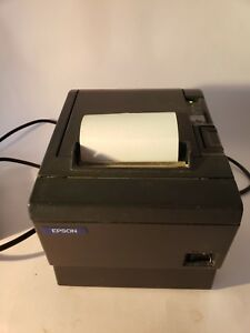 Epson Tm t88ii Model M129c Thermal Pos Receipt Printer With Power Supply